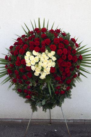Besonderer Rosenkranz mit Herz